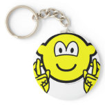 Fingers crossed buddy icon   keychains