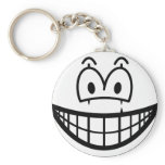 Mime smile   keychains