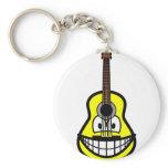 Guitar smile   keychains