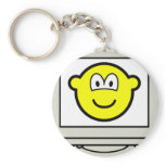 Computer screen buddy icon   keychains