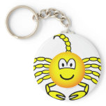 Scorpio emoticon Zodiac sign  keychains