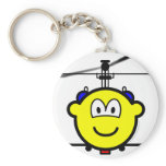 Helicopter buddy icon   keychains