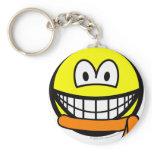 Orange belt smile   keychains