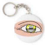 Eye smile   keychains