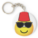 Fez emoticon   keychains