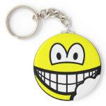 Bitten smile   keychains