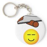 Snoring emoticon   keychains