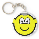 Thinking buddy icon Cogs  keychains