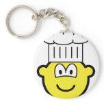 Chef buddy icon   keychains