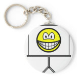 Projected smile   keychains