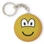 Jaarringen emoticon   keychains