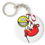 Bagpipes smile   keychains