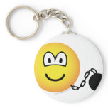Chained emoticon   keychains