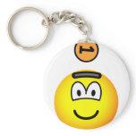 Piggy bank emoticon   keychains