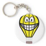 Balloon smile   keychains