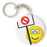 Demonstrator emoticon   keychains