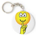 Quiet emoticon   keychains