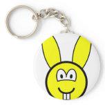Rabbit buddy icon   keychains