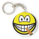 Cigar smile   keychains