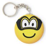 Robber emoticon   keychains