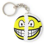 Broken smile   keychains