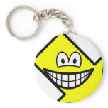 Down right smile arrow  keychains