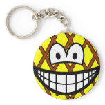 Grilled smile   keychains