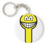 Key hole smile   keychains