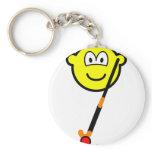 Field hockey buddy icon   keychains