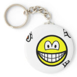 Knife thrower smile   keychains
