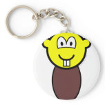Beaver buddy icon   keychains