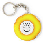 Play dough emoticon   keychains