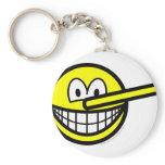 Pinocchio smile   keychains