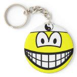 Karate smile   keychains