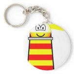 Lighthouse emoticon   keychains