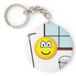 Window cleaner emoticon   keychains