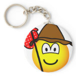 Hobo emoticon   keychains