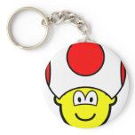Toad buddy icon video game  keychains