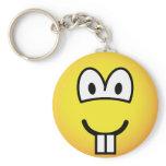 Rodent emoticon   keychains