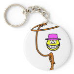 Cowgirl smile lasso  keychains