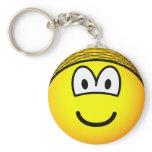 Hairnet emoticon   keychains
