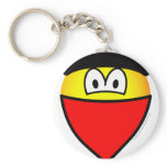 Protester emoticon   keychains