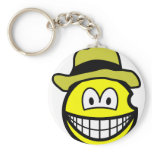 Van Gogh smile   keychains