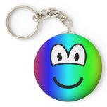 Rainbow emoticon Colours  keychains