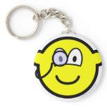 Monocle buddy icon   keychains