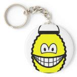Japanese lantern smile   keychains