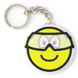 Safety goggles buddy icon   keychains