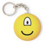 Cyclops emoticon   keychains