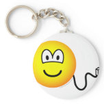 Unplugged emoticon   keychains