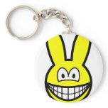 Bunny smile   keychains